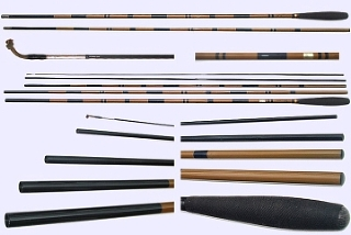Daiwa Youshu-17 Hera rod.