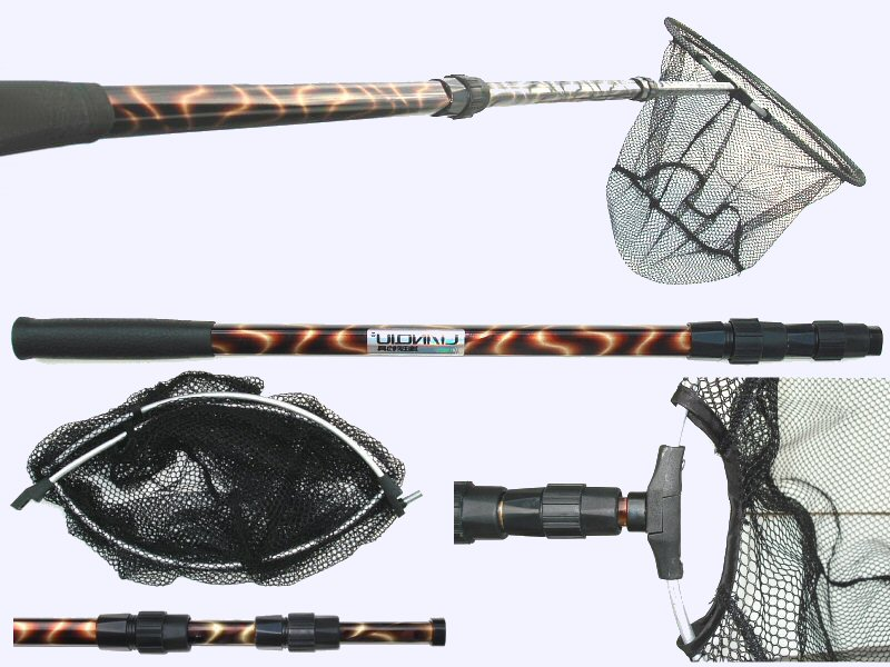All fishing buy telescopic fishing landing net with for Telescoping fishing net
