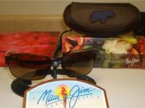 Maui Jim Black Coral Sunglasses Polarized H249-19M