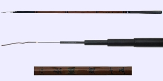 Hera-B1-88-3-4505 fishing rod