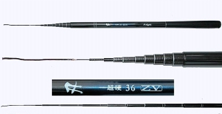 3.6m Extra Compact High Quality Fishing Pole Rod