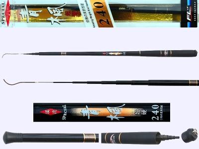 2.4m Extra Compact A1-38-2-2408 pole