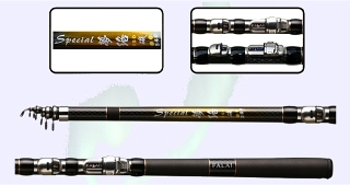 18ft 5.4m Flexible Strong Spinning Rod 1.4mm