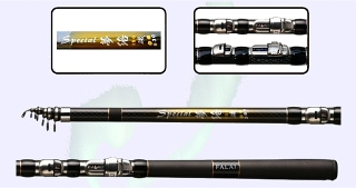 21ft 6.3m Flexible Strong Spinning Rod 1.4mm