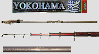 C3-81-3-3606 Hard Spinning Rod