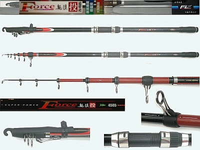 Surf Casting Rod F1-25-2-4505