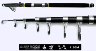 77cm 4.2m Super Hard Surf Rod