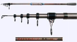92cm 4.5m Super Hard Surf Rod 2.4mm