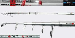 90cm 4.2m Super Hard Surf Rod