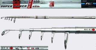 90cm 4.5m Super Hard Surf Rod 2.2mm