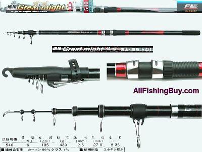 Surf Casting Rod F1-95-2-5406