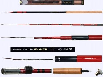 5m Tenkara rod AKAMACHI-42-5007