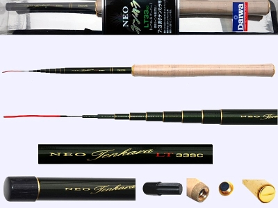 3.3m Light Tenkara rod Daiwa Neo-LT33SC