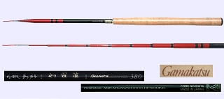 GAMAKATSU Gensuirai-380 Tenkara Rod Ultra Light Action