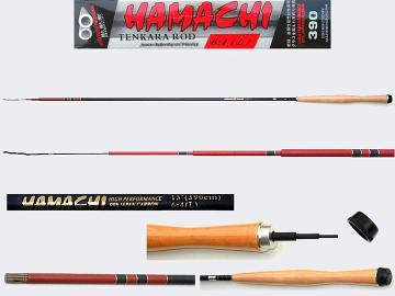 3.9m Medium Light Tenkara rod