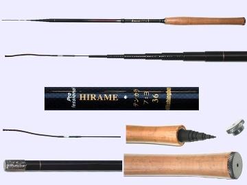 3.6m medium Tenkara rod Hirame-M-3608