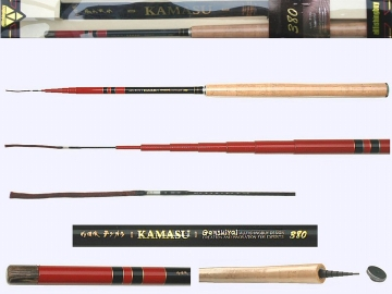 3.8m Ultra Light Tenkara rod KAMASU-3809