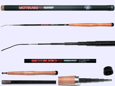 3.6m Ultra-Light Action Tenkara rod MOTSUGO-3607