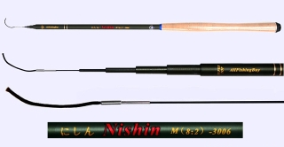3.0m Medium Action Tenkara rod NISHIN-3006