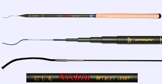 3.3m Medium Action Tenkara rod NISHIN-3307