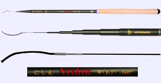 3.6m Medium Action Tenkara rod NISHIN-3607
