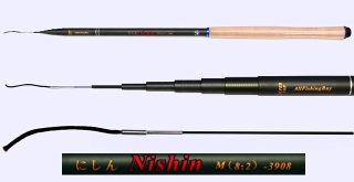 3.9m Medium Action Tenkara rod NISHIN-3908