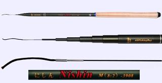 3.9m Medium Action Tenkara rod