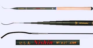 4.2m Medium Action Tenkara rod NISHIN-4209