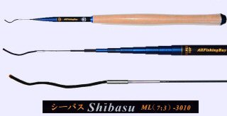 3.0m Medium Light Action Tenkara rod SHIBASU-3010