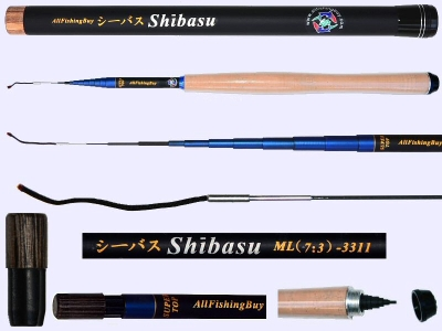 3.3m Medium Light Action Tenkara rod