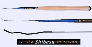 3.3m Medium Light Action Tenkara rod SHIBASU-3311