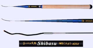 4.2m Medium Light Action Tenkara rod SHIBASU-4214