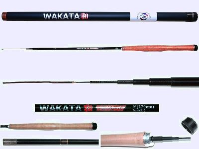 2.7m Light Action Tenkara rod