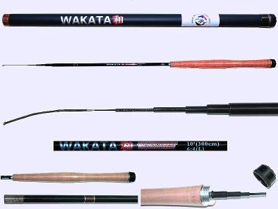 3m Light Action Tenkara rod WAKATA-3006