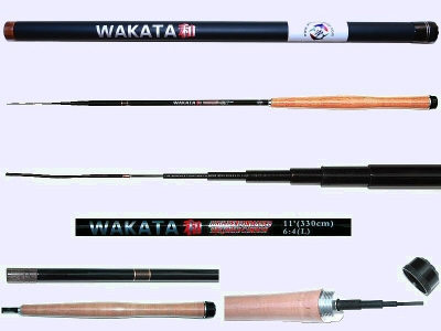 3m Light Action Tenkara rod WAKATA-3307