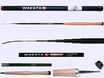 3.6m Light Action Tenkara rod WAKATA-3607