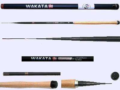 4.2m Light Action Tenkara rod WAKATA-4209